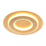 Plafon Sobrepor Sindora LED Metal DCX015053 Redondo 25W 3000K Bivolt Ø350mm - Ouro Folha