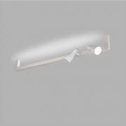 Plafon Usina 16381/130 Linea Perfil U 1L T8 2L PAR20 1300x220x120mm
