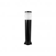Poste Incolustre Cone 17010/G Mix 1L E27 25W 900x170x200mm - Preto