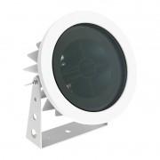 Projetor Canopla LED Interlight 3692-AB-S Flat Out Antiofuscante 15W 2700K 12V IP67 Ø192x134mm