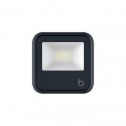 Projetor LED Brilia 306486 IP65 10W 3000K Bivolt 130x30x90mm - Preto