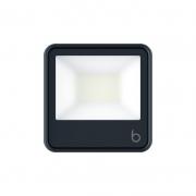 Projetor LED Brilia 306530 IP65 30W 6500K Bivolt 130x30x90mm - Preto