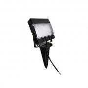 Refletor LED Ecoforce 18455-OUTLET 7,5W Verde Bivolt IP65 100x100x205mm