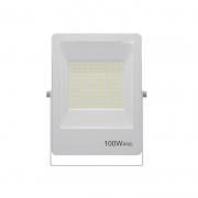 Refletor LED Gaya 9387 100W 3000k IP65 310x21x235mm Branco