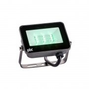 Refletor Slim LED Pix 36505181 10W Verde 800lm IP65 Bivolt 103x77x23mm