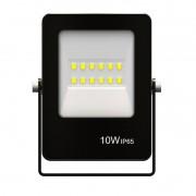 Refletor Ultrafino LED Gaya 9380 10W 6500k IP65 Preto