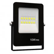 Refletor Ultrafino LED Gaya 9388 10W BIVOLT IP65 Preto
