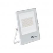 Refletor Ultrafino LED Gaya 9393 30W 6500K Bivolt IP65 175x14x134mm- Branco