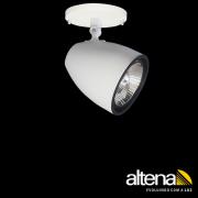 Spot Altena CPL06011 Duo 1L AR111 GU10 Com Canopla