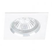 Spot Bella NS1002B-OUTLET Embutir Fit 1L GU10 Dicóica Bivolt 80x80x57mm Branco