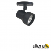 Spot Altena CPL08070 Dome 1L AR70 GU10 Com Canopla