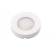 Spot de Embutir ou Sobrepor Redondo Pix 36505001 2 em 1 LED 2W 3000k 110lm 70x70x15mm Branco