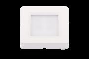 Spot de Embutir ou Sobrepor Redondo Pix 36505002 2 em 1 LED 2W 3000k 110lm 70x70x15mm Branco