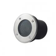 Spot de LED Para Solo Nordecor 6160/N Vinne LED 3000K 700lm 7W 85x100x70mm Bivolt Preto
