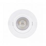 Spot Direcionável Redondo LED Gaya 9970 Bivolt 5W 6000K IP20 Ø88x42mm Branco