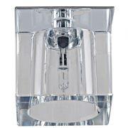 Spot Bella YD604 Embutido Shine 1L G4 5,5x5,5x5,5cm Cromado/Transparente