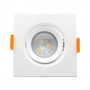 Spot Embutir LED Furlight FL1008-OL Quadrado 3W 4200K Bivolt 75x75x40mm