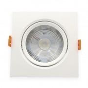 Spot Embutir LED Furlight FL1010-OL Quadrado 7W 4200K Bivolt 112x112x51mm