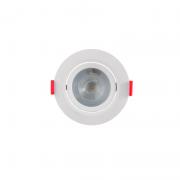 Spot Embutir LED Opus ECO32733 Redondo 5W 6500K Bivolt Ø92x92x41mm