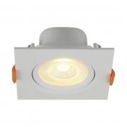 Spot LED Blumenau 80263004-OUTLET Slim Quadrado 6W 3000K 90x90x38mm