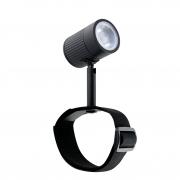 Spot LED Sstella STH9720/30 Focco C/ Cinta 5W 3000K IP65 Bivolt - Preto