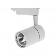 Spot para Trilho Nordecor 6086/N Dora LED 24W 3000K 2520lm 230x130x88mm Bivolt Branco