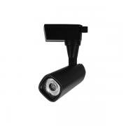 Spot para Trilho Nordecor 6104/N Valis LED 10W 3000K 800lm 190x75x66mm Bivolt Preto