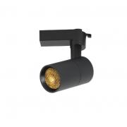 Spot para Trilho Nordecor 6178/N-OUTLET Flos LED 3000K 800lm 10W 130x110x70mm Bivolt Preto