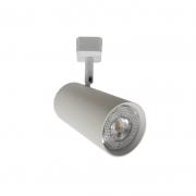 Spot para Trilho Starlux ZTL015-WH Titan 1L GU10 MR11 Ø38x80mm - Branco