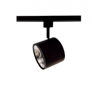 Spot para Trilho Starlux ZTL018-BK Titan 1L GU10 AR111 Ø115x90mm - Preto