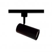 Spot para Trilho Starlux ZTL019-BK Titan 1L E27 Par20 Ø66x130mm - Preto