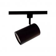 Spot para Trilho Starlux ZTL020-BK Titan 1L E27 Par30 Ø100x155mm - Preto