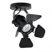 Spot SkyLight SKY-310PTO Cênico 1L MR16 - Preto