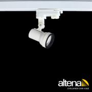 Spot Trilho Eletrificado 3 Circuitos Altena PRO04016 Simi 1L Dicróica/PAR16 GU10 Plug Altrac PRO