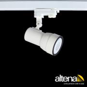 Spot Trilho Eletrificado 3 Circuitos Altena PRO04020 Simi 1L PAR20 E27 Plug Altrac PRO