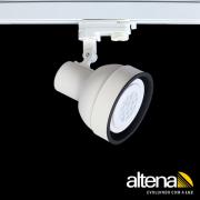 Spot Trilho Eletrificado 3 Circuitos Altena PRO04030 Simi 1L PAR30 E27 Plug Altrac PRO