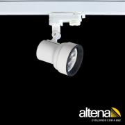 Spot Trilho Eletrificado 3 Circuitos Altena PRO04070 Simi 1L AR70 GU10 Plug Altrac PRO