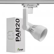 Spot Trilho Furlight FL3017 PAR20 E27 Branco
