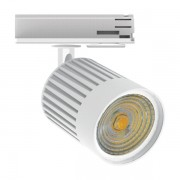Spot Trilho LED Interlight AD2570-W/PM Mini Orientável 5W 3000K Bivolt IP20 Ø47x60mm Preto Microtexturizado