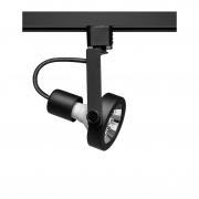 Spot Para Trilho Eletrificado Stella SD1170PTO AR70 1L GU10 AR70 Ø75x155mm - Preto