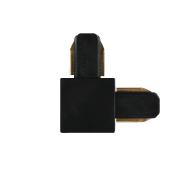 Conector L Para Trilho Eletrificado Furlight FL3009 Preto