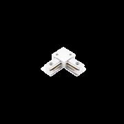 """Conexão """"L"""" Para Trilho Eletrificado Sobrepor Stella SD1044BR - Branco"""