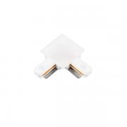 """Conexão """"L"""" Para Trilho Eletrificado Embutir SD1206BR - Branco"""