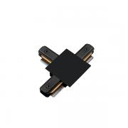 """Conexão """"T"""" Para Trilho Eletrificado Embutir SD1207PTO - Preto"""