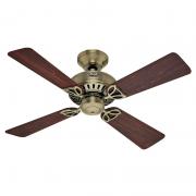 Ventilador de Teto Hunter Fan 50000 Bay Port 4 Pás 62W 60Hz 235Rpm 127V Ø1070x351,8mm Metal Antigo