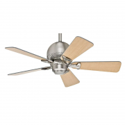 Ventilador de Teto Hunter Fan 50024 Orbit 5 Pás 60W 60Hz 250Rpm 127V Ø920x370mm Níquel Escovado