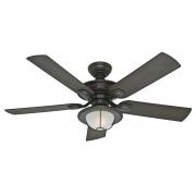 Ventilador de Teto Hunter Fan 50029 Angra 5 Pás 67W 60Hz 195Rpm 127V Ø1320x460mm Bronze Novo