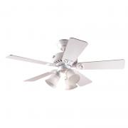 Ventilador de Teto Hunter Fan 50036 Beacon Hill 5 Pás 63W 60Hz 237Rpm 127V Ø1060x457,2mm Branco