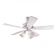 Ventilador de Teto Hunter Fan 50836 Beacon Hill 5 Pás 63W 60Hz 237Rpm 220V Ø1060x457,2mm Branco