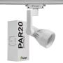 Spot Para Trilho Eletrificado Furlight FL3017 PAR20 E27 Ø80x240mm Branco